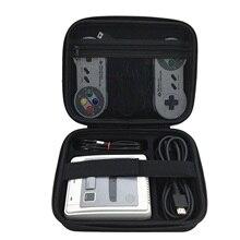 Bevigac Hard Shell Schutz Lagerung Travel Hand Tasche Fall für Nintendo SNES Classic Mini Super Famicom Konsole Controller Kabel
