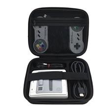 Bevigac Hard Shell ป้องกัน Travel เคสสำหรับ Nintendo SNES Classic Mini Super Famicom คอนโซล Controller Cable