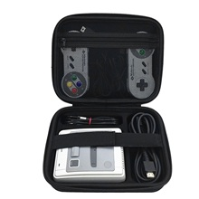 Bevigac קשה מעטפת מגן אחסון נסיעות תיק יד מקרה עבור Nintendo SNES קלאסי מיני סופר Famicom קונסולת בקר כבל