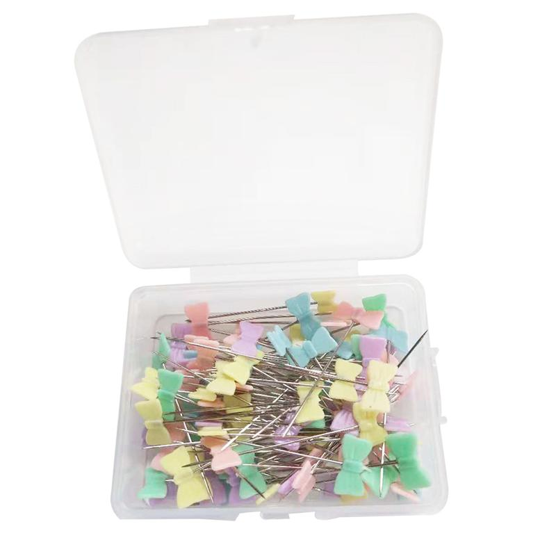 SUPVOX 100pcs Pearl Head Pins Sewing Pin for DIY Sewing Crafts Dressmaker White