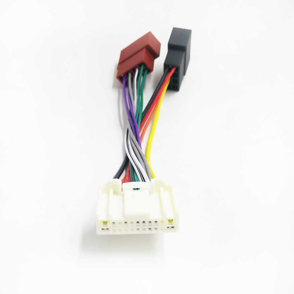 biurlink 2019 car radio iso connector plug adapter wiring cable for nissan murano pulsar micra tiida [ 1000 x 1000 Pixel ]