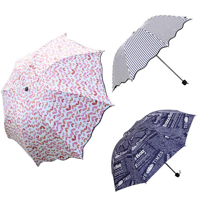 Custom Arizona State Flag Compact Travel Windproof Rainproof Foldable Umbrella
