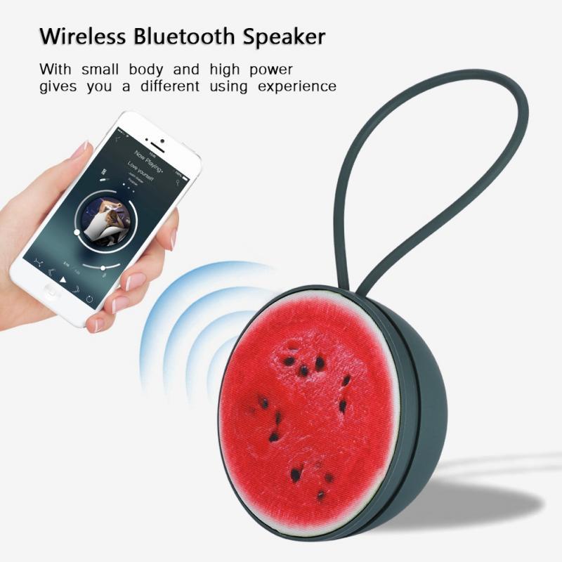 Humble Mini Bluetooth Speaker Portable 3d Stereo Sound Wireless Bluetooth Speaker Fruit-shaped Speaker Usb Music Player For Phone