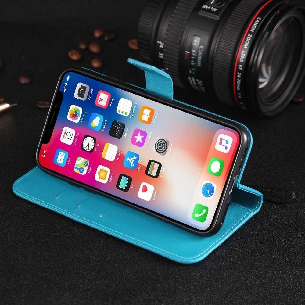 Caso cuero Flip cartera para Samsung Galaxy J1 J2 J3 J4 J5 J6 J7 J8 A6 A8 A7 Plus el primer Pro 2015, 2016, 2017, 2018 j530 Coque