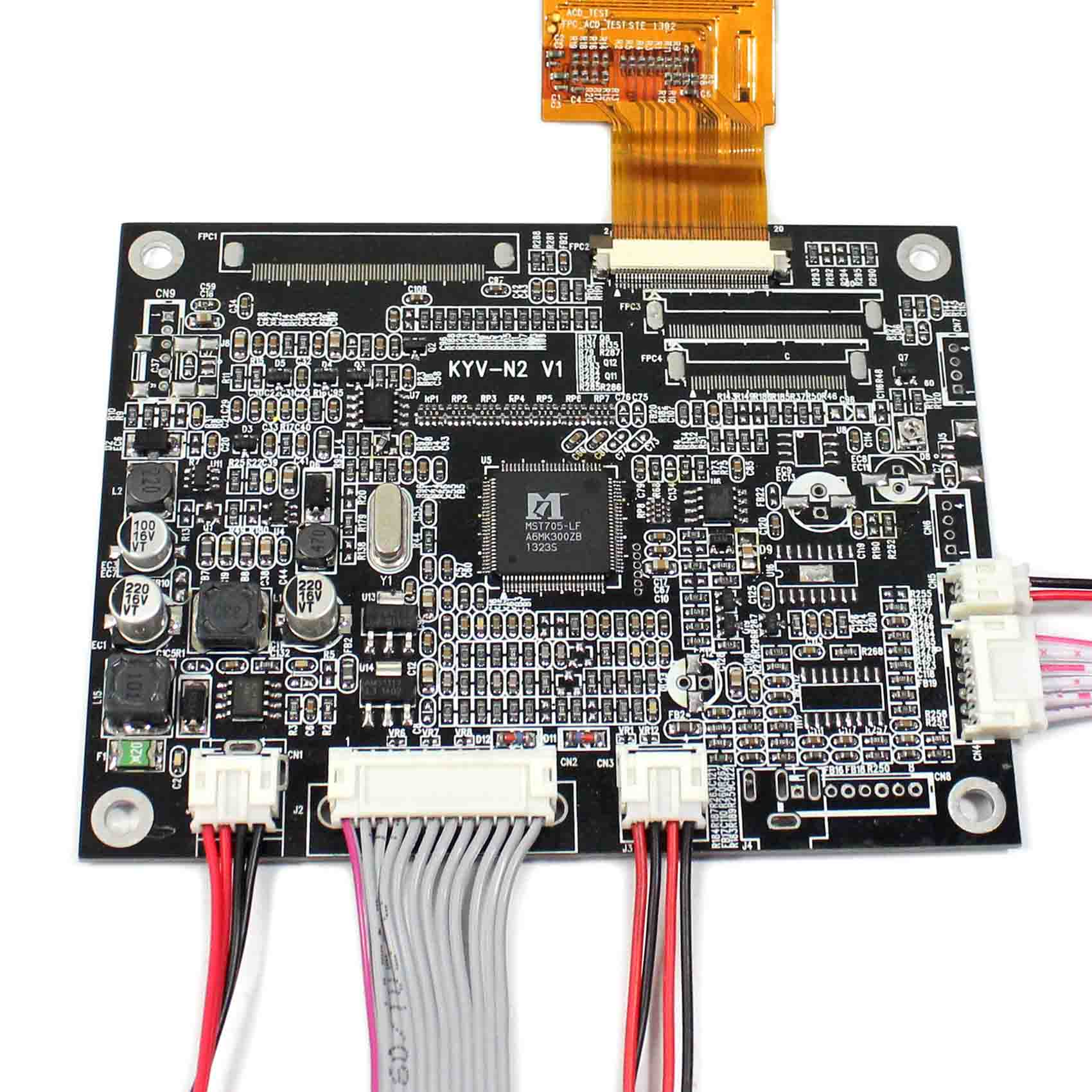 8inch IPS LCD Screen HJ080IA-01E 1024x768 VGA AV LCD Controller Board Reversing