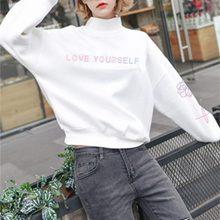 BTS 2018 new Love Yourself Women Hoodies Sweatshirt