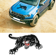 1PC Ferocious animal Leopard pattern car sticker hood vinyl graphic car sticker door decal animal футболка animal graphic p05 12