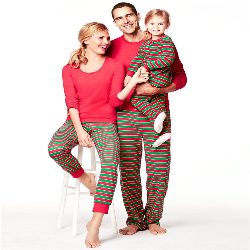 Smart Pudcoco Christmas Family Matching Outfits Pajamas Sets High Quality Comfort Men Women Kid Baby Xmas Sleepwear Nightwear Sets Activating Blood Circulation And Strengthening Sinews And Bones