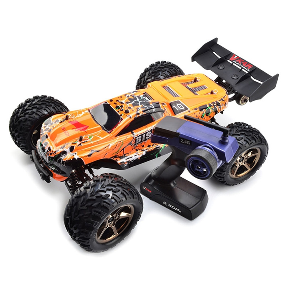 1:10 Competition RC Cars High Speed 80 90km/h 2.4GHz 2CH 4WD RC Car with Waterproof Brushless Outdoor RC Truck Racing Car Toys