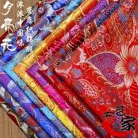 Tecidos Silk Fabric Metre Fabric Free Shipping Brocade Cloth Costume Hanfu Cos Kimono Tangzhuang Qipao Silk Art Of Diy By Hand