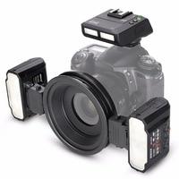 GloryStar Meike MK MT24 Macro Twin Lite флэш памяти для Nikon D750 D800 D810 D7200 D610 цифровых зеркальных камер