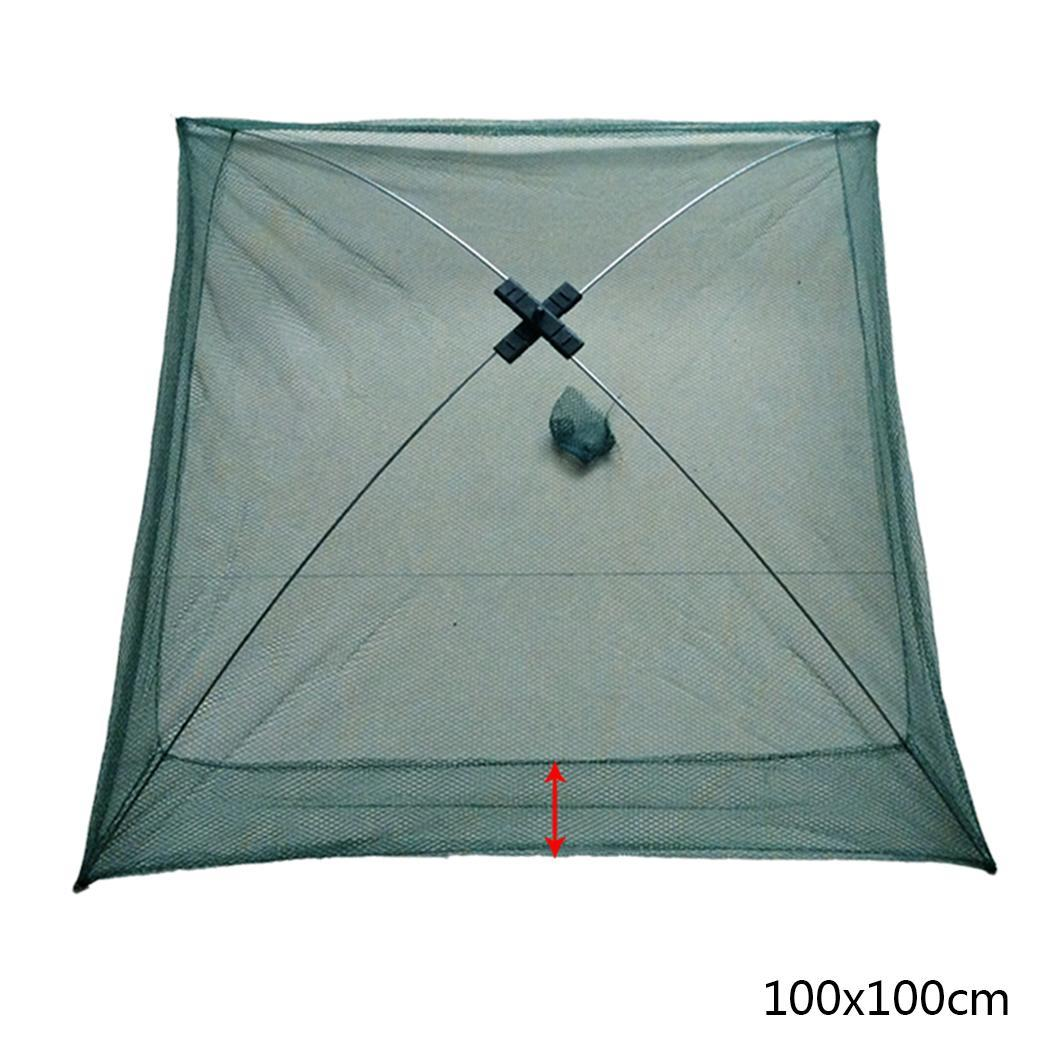 Durable Sturdy Folding Fishing Net Outdoor As Picture Fishing Tool
