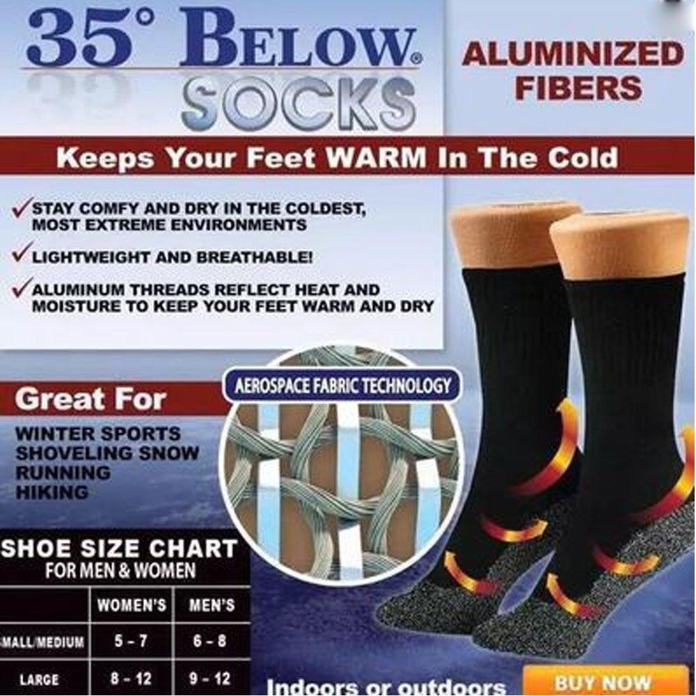 Mens 6 Pairs High Performance Thermal Snow Ski Socks Hiking Top Quality Long 2.0 TOG Multi 6-11
