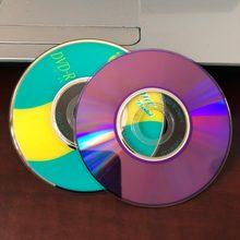 Оптовая продажа, 25 шт. мини-дисков 8 см 1,4 ГБ класса А с принтом фруктов 8x DVD R.