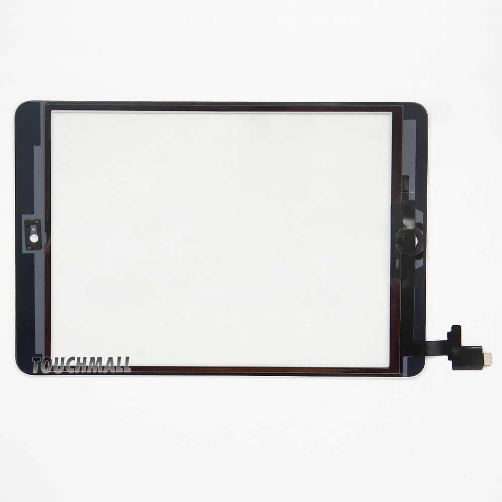 جديد اللمس شاشة + زر المنزل + IC رقاقة + حامل كاميرا لباد البسيطة 1 A1432 A1454 A1455 ل البسيطة 2 A1489 A1490 A1491 + أدوات