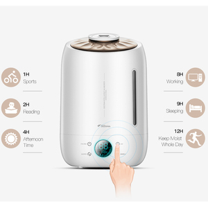 Image 2 - Deerma diffuseur darôme et humidificateur dair Original, brumisateur ultrasonique, 5l, pour la maison écran tactile Led