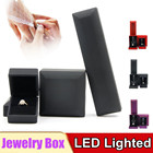 Red Purple Black LED Lighted Pendant Necklace Ring Gift Box Wedding Ring Jewelry Display Packaging Storage For Engagement