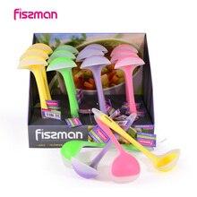 Fissman 28 см с длинной ручкой кухонный силиконовый ковш для супа для приготовления пищи силиконовый