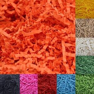 Image 1 - 1000g Crinkle Cut Carta Shred di Riempimento Per Confezioni Regalo Cesto di Archiviazione Imballaggio Craft Biancheria Da Letto Imballaggio Dei Monili di Visualizzazione Accessori