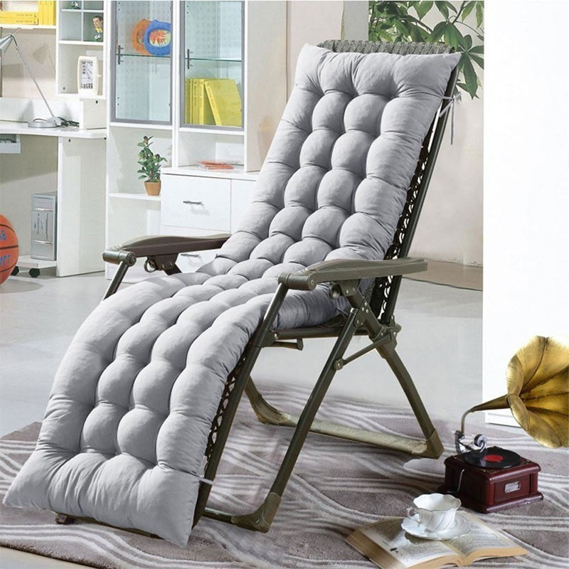 Polyester Lounge Chair Cushion Comfortable Soft Deck