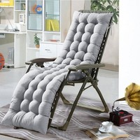 100% Polyester Lounge Chair Cushion Comfortable Soft Deck Chaise Padding Outdoor Patio Pool Recliner Cushions