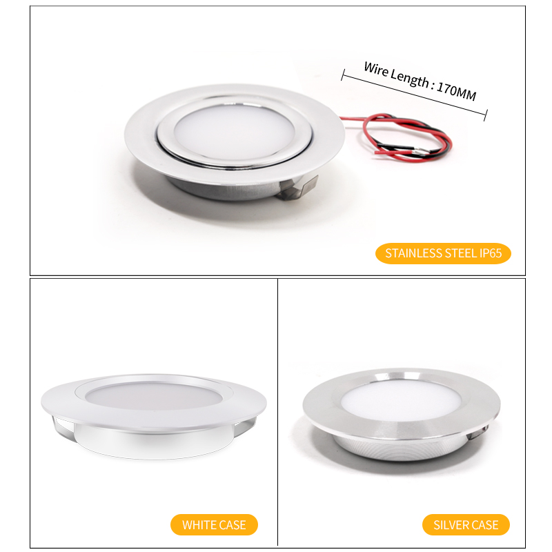 LED mini spotlight outdoor IP65 waterproof bathroom ceiling hidden downlight ultra thin spot 12V cabinet light recessed ceiling in LED Spotlights from Lights Lighting