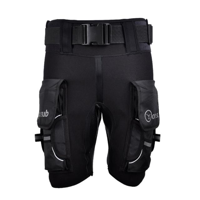 Yonsub Diving Wetsuit Shorts Men Submersible D Ring Short Pants Mens Printed Technical Surf Snorkeling Equipment