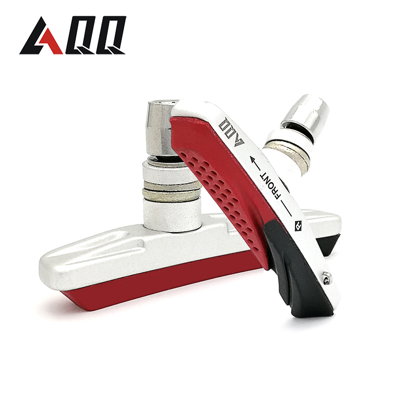 AQQ 1 Pair Mountain Bike Bicycle Brake Pads Bicycle Braking V Brake Holder Shoes Rubber Blocks Durable Cycling Accessories|Bicycle Brake|Sports & Entertainment - title=
