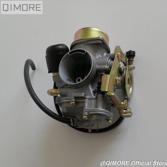 Pull Down Type CVK30 Carburateur Met Verwarming Voor AN250 Skywave / Burgman Linhai Aeolus Vog 260 300 Tank 260 YP250 Xingyue 260