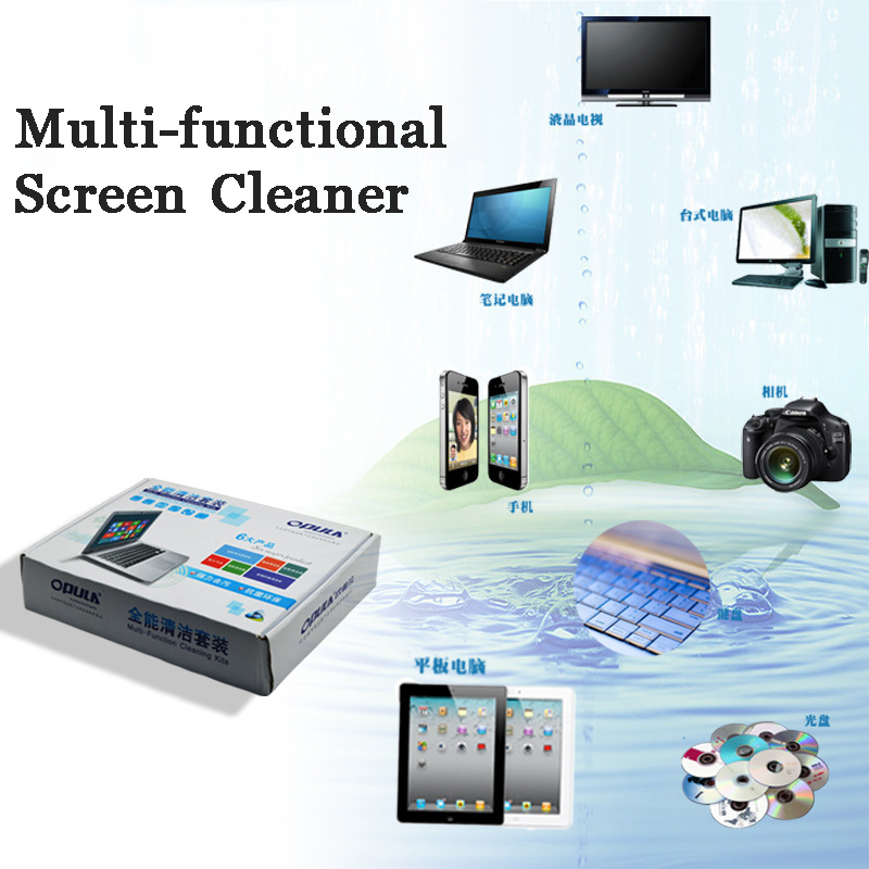 US $6 99 50% OFF|5Piece/Set Laptop Computer Cleaner Laptop TV Digital  Camera Phone Screen Cleaner Tool LCD Cleaner Wipe Screen Cleaning KIT-in
