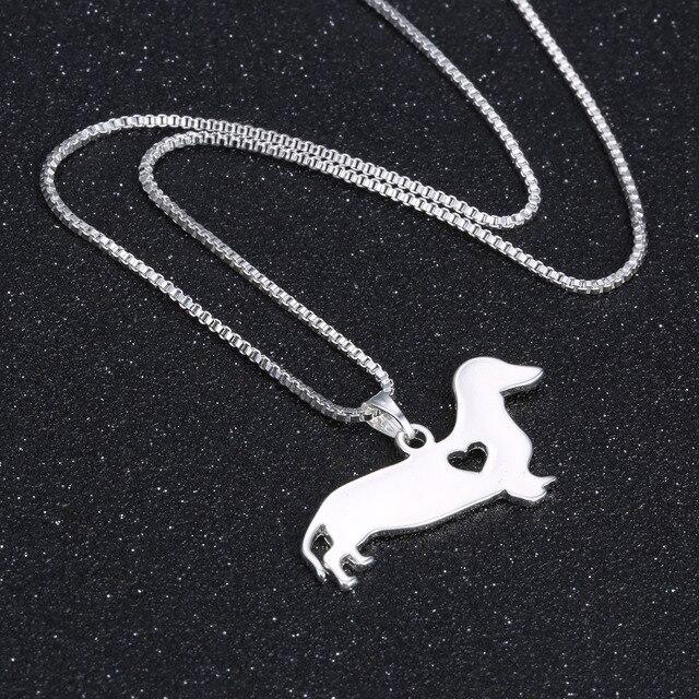 Dog Pendant Necklaces  2