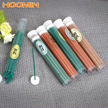 50pcs Indoor Natural Incense Burner Sticks Sandalwood Rose Green Tea Aromatherapy Sleep Health Incense Sticks Home Decor Aroma(China)