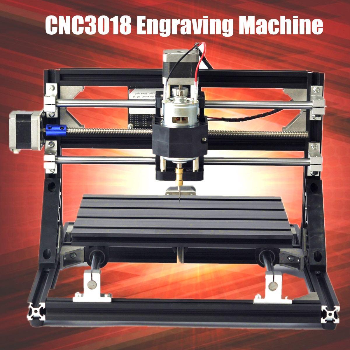 CNC3018 CNC2418 3 de Gravura do Laser Mini Máquina de Gravura do Cnc Eixo Pcb Pvc Fresadora Router De Madeira/Cortador/Cortador de Impressora