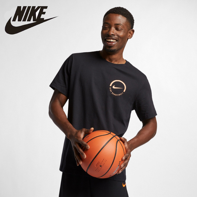 Nike Official Nike Men's Basketball T-shirt Breathable Outdoor Sportswear # BQ7537