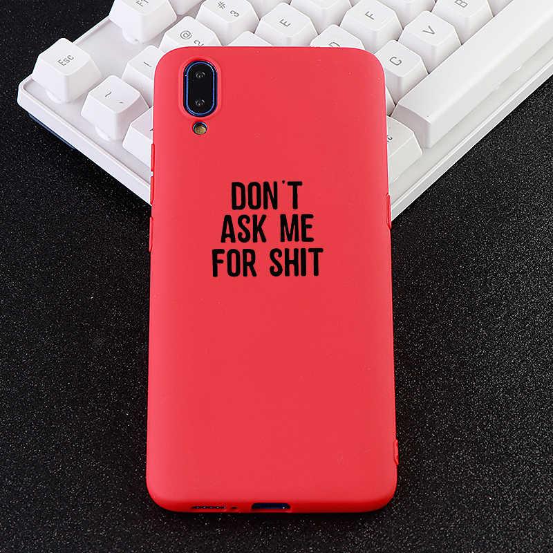 Novos casos de telefone móvel para vivo x 20 21 23 i s ud y 69 z 1 3 caso engraçado letra macia tpu silicone capas de telefone celular acessórios