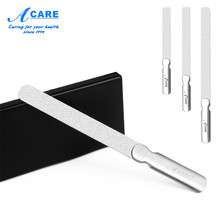 1pc Nail File Set Stainless Steel Round Head Professional Metal Manicure Pedicur