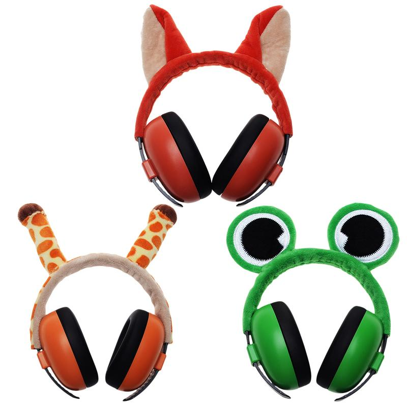 Baby Anti-Noise Earmuffs Headphones Noise Cancelling Headphones Hearing Protection For Newborn Baby Children Kid image