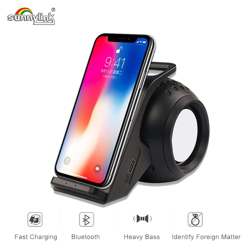 все цены на 10W Powerful Bluetooth Speaker+Wireless Charger Fast Wireless Charger Bluetooth Speaker for Iphone8/X/XR Samsung S7S8/S9 Phones