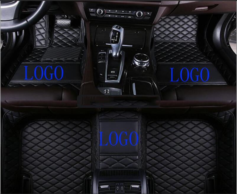 Fit Ford fusion 2013-2018 car carpets +logo car accessories Leather Car Floor Auto Mats accessories Waterproof Mat 12 colorFit Ford fusion 2013-2018 car carpets +logo car accessories Leather Car Floor Auto Mats accessories Waterproof Mat 12 color