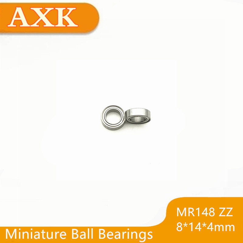 2019 Direct Selling Sale <font><b>Mr148zz</b></font> Bearing Abec-5 (10pcs) <font><b>8*14*4</b></font> Mm Miniature Mr148-2z Ball Bearings Mr148 Zz L-1480zz Mr148z image