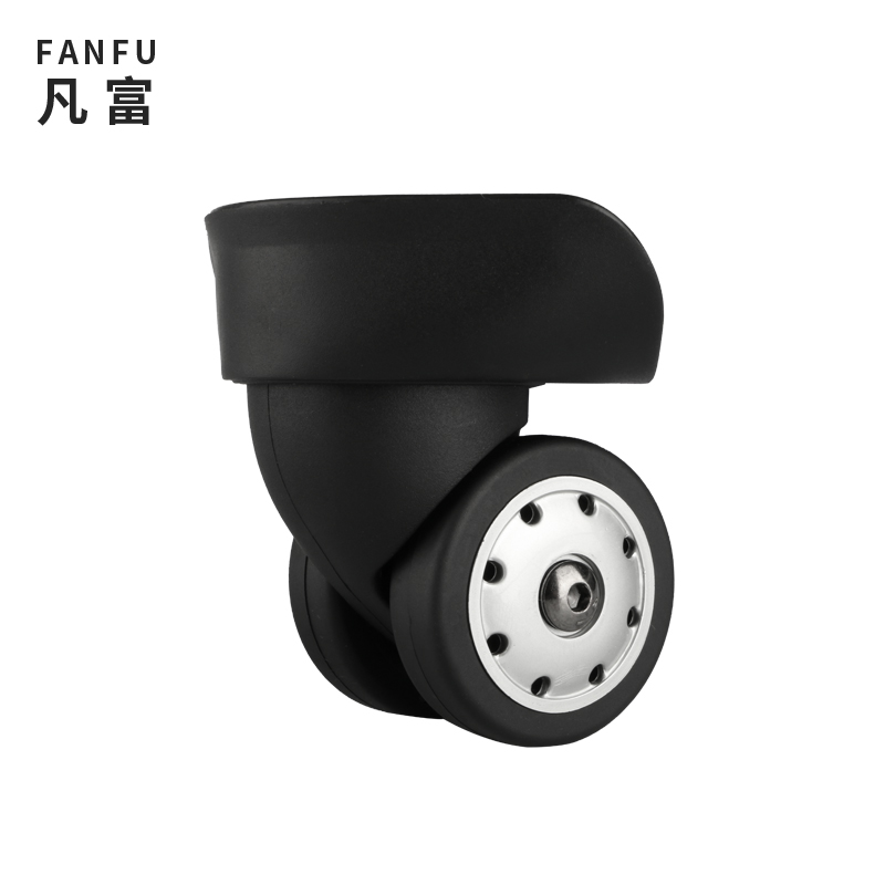 W046 Suitcase Wheels Accessories Rolling Suitcase Accessories Luggage Wheels Replacement Suitcase Rolling Travel Luggage Casters