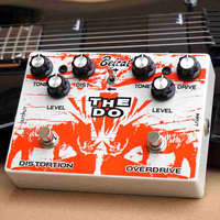 Belcat THE DO Distortion & Overdrive Guitar Effect Pedal 3 Models to Switch Effects Stompbox for Electric Guitar