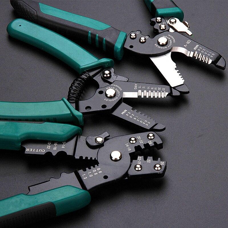Zangen Draht Stripper Dekrustation Zangen Multi Tool Reparatur Werkzeug Zangen Kabel Abisolieren Zange Crimpen Werkzeug Zange Kombination