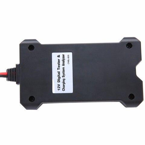 12V Automotive Motorcycle Car Battery Tester LCD Digital Test Analyzer Auto System Analyzer Alternator Cranking Check Islamabad