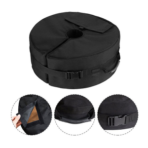 Image 3 - Tent Fixed Sandbag Empty Round Patio Sunshade Umbrella Stand Gravity Base Bag Tent Accessories For Outdoor Camping Beach Party