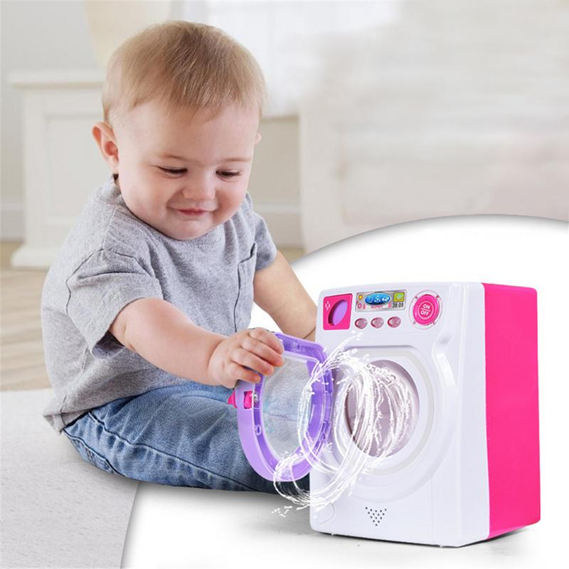 Children Educational Toys Hold Water Large Sized Simulation Washing Machine Home Appliance ToyChildren Educational Toys Hold Water Large Sized Simulation Washing Machine Home Appliance Toy