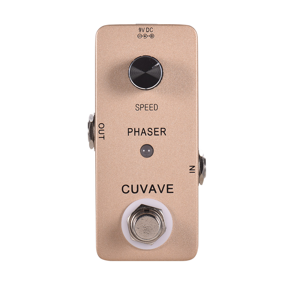 phaser guitar effect pedal analog phase guitar pedal zinc alloy shell true bypass guitar parts. Black Bedroom Furniture Sets. Home Design Ideas
