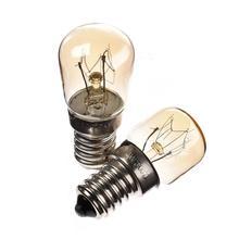Высокая Температура 15 W/25 W 300 градусов E14 лампа для духовки лампы Паровая светильники 220 V-240 V Вольфрам лампа