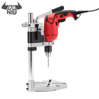 DANIU Electric Drill Bracket 400mm Drilling Holder Grinder Rack Stand Clamp Bench Press Stand For Electric Drill DIY Woodwork