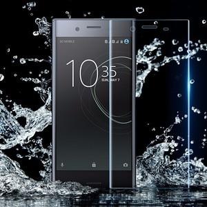 Image 5 - 10D kavisli hidrojel yumuşak Film Sony Xperia Xa 1 2 artı Ultra tam kapak XZ 2 3 Premium XZ1 XZ S kompakt HD ekran koruyucu